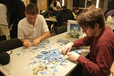 Coffee Hour: Puzzle Night